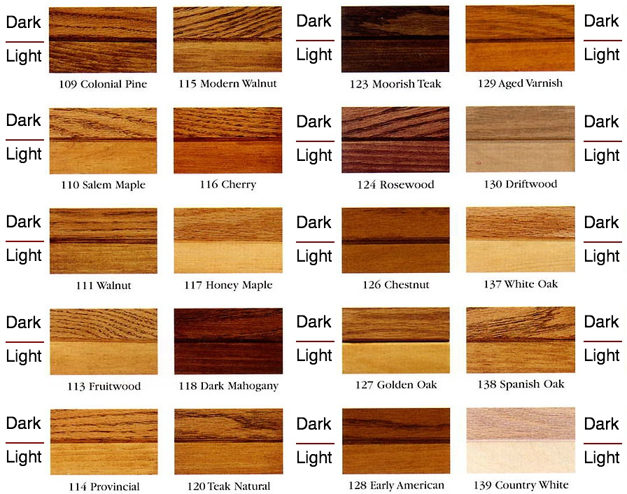 Woodwork Color Wood Stains Pdf Plans